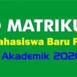 Pengumuman Matrikulasi Prodi KPI TA. 2020/2021