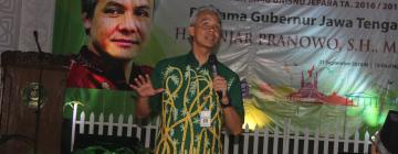 Kujungi Unisnu, Ganjar Pranowo Beri Motivasi Mahasiswa dalam Kuliah Perdana