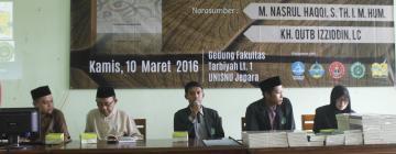 LPM Fokus UNISNU Adakan Bedah Buku ASWAJA dan Launching Buku