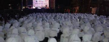 Malam Inagurasi, Mahasiswa Baru Unisnu ikuti istighotsah dan Siraman Rohani