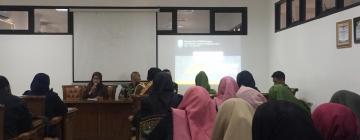 Untuk Menguatkan Materi Public Relations, Mahasiswa FDK Outing Class ke Diskominfo Kabupaten Jepara