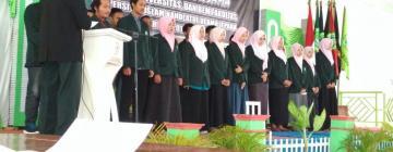 Dekan FDK Lantik Pengurus BEM Fakultas Periode 2017/2018