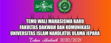 Temu Wali Mahasiswa Baru TA. 2020/2021