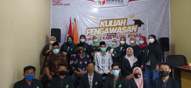 Mahasiswa KPI, Gelar Kunjungan Kelembagaan ke Bawaslu Jepara