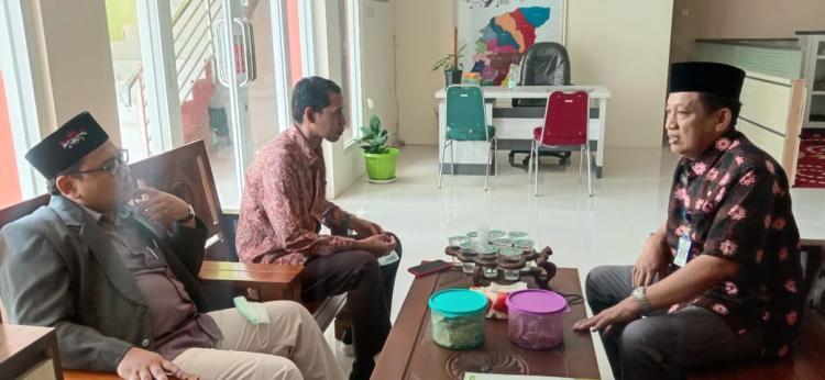 Perkuat Kerjasama; Pimpinan FDK Kunjungi Ketua LP. Ma'arif NU Jepara