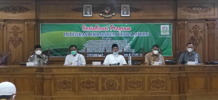 Nusron Wahid : Dari 57 Juta Pelaku Usaha Ultra Mikro di Indonesia, Baru 20% yang Berhasil Nikmati Layanan Akses Keuangan